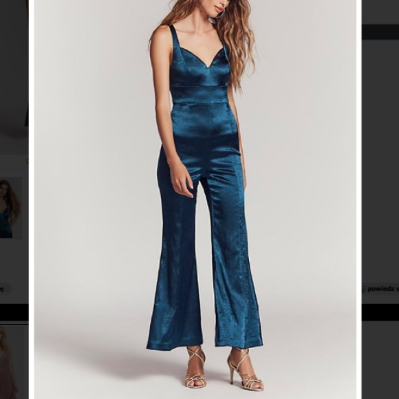 cd8ae3d90abd Free People Emerald Jumpsuit Size 6 NWT